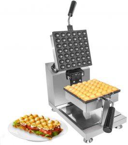 ALDKitchen square bubble waffle maker