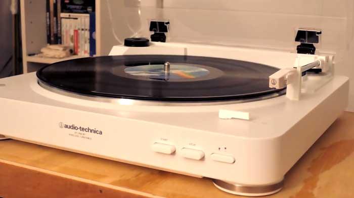 Audio Technica AT-LP60BK-BT