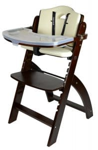 abiie beyond wooden high chair image