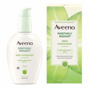aveeno positively radiant daily face moisturizer image