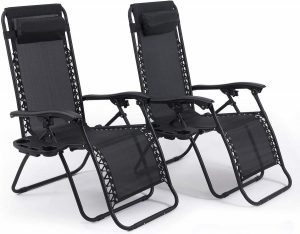 belleze zero gravity chairs image