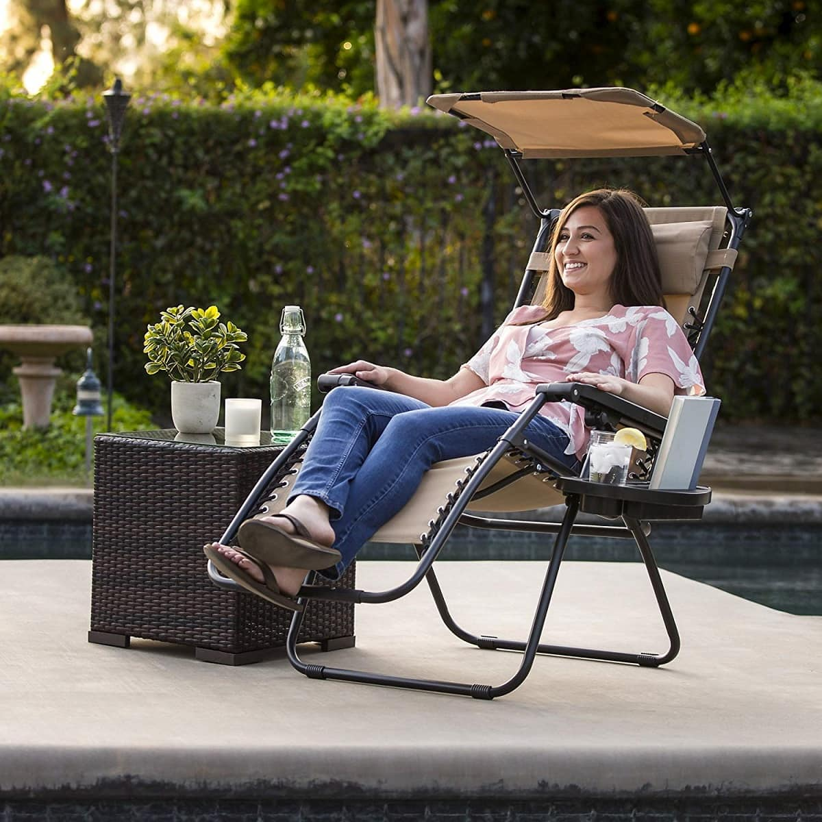 best choice products canopy chair image