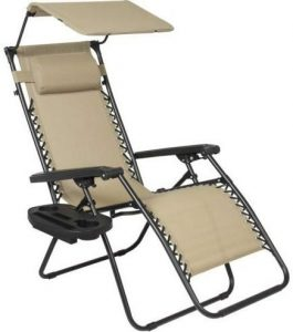 best choice zero gravity canopy chair image