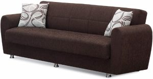 beyan modern convertible folding sofa bed image