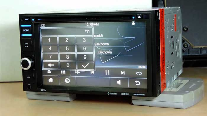 BOSS Audio 2 DIN Car stereo system