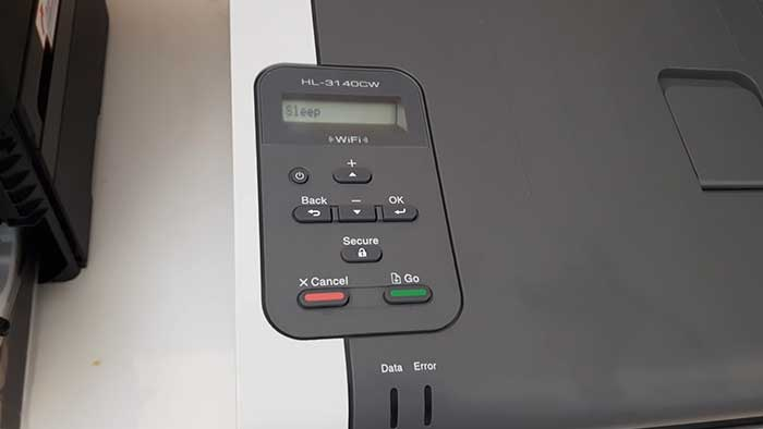 Setting up airprint on a brother printer