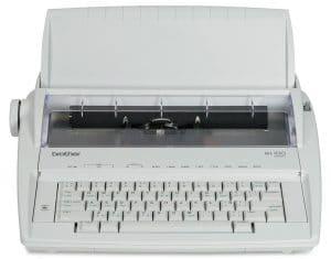 brother ml 100 electronic typewriter image