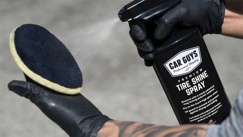 Car guys shine spray