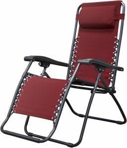 caravan sports infinity zero gravity chair image
