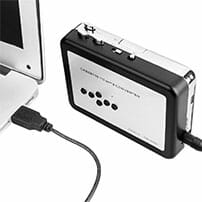 mp3 converter plugged in