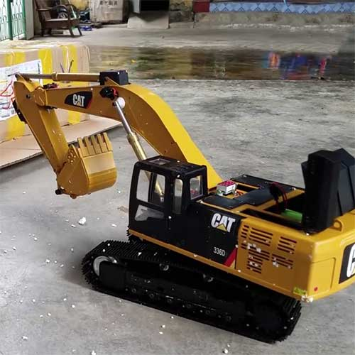 caterpillar rc excavator