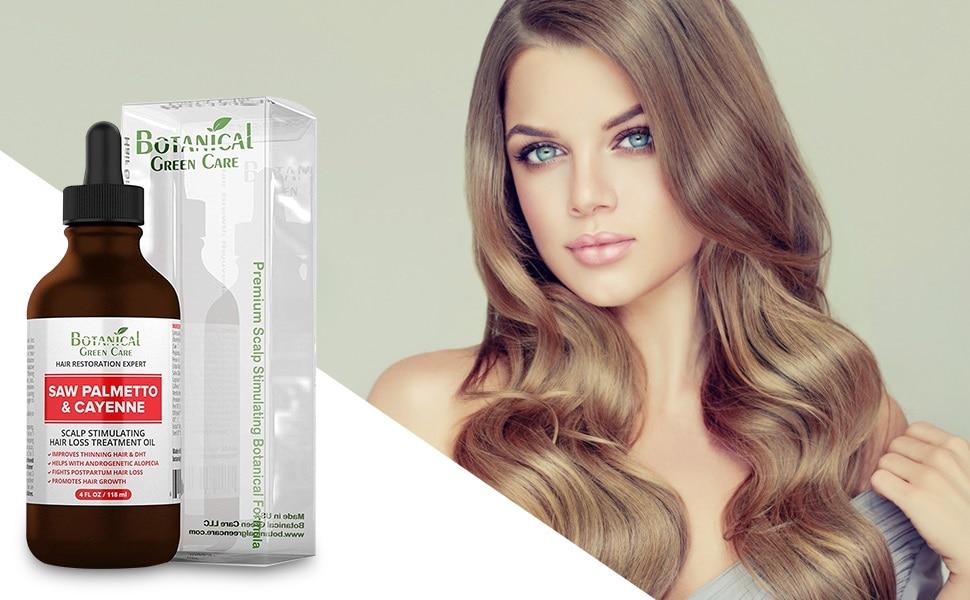 cayenne hair loss scalp treatment oil image