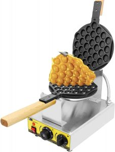 CGOLDENWALL electric bubble waffle iron maker