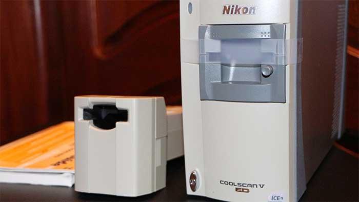 Nikon coolscan ls 50 film scanner