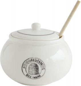 creative Co Op honey pot with wood dipper
