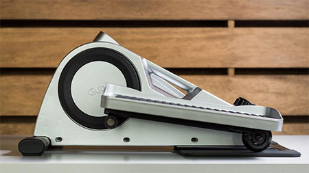 Cubii under desk elliptical in gray color