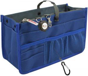 dahlias patented sturdy handbag purse organizer insert image