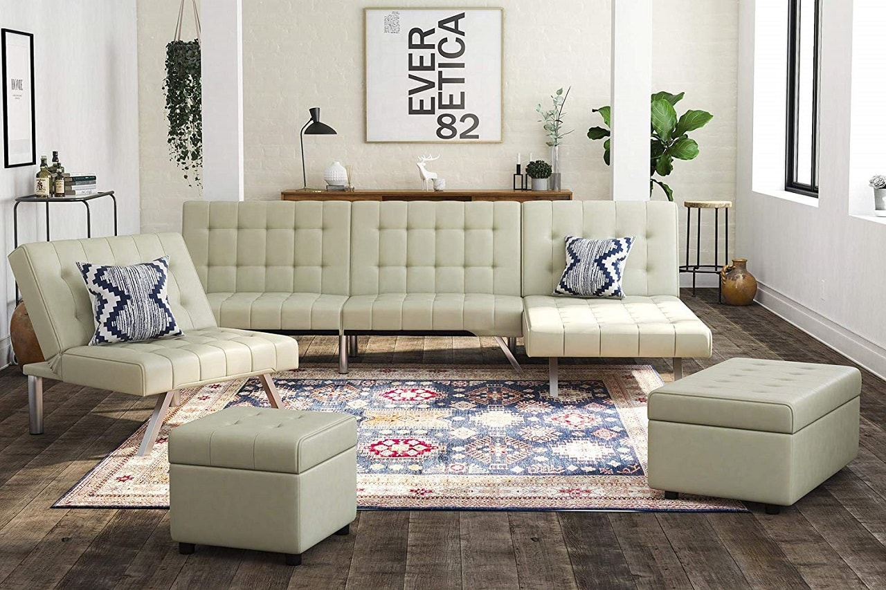 dhp convertible couch image