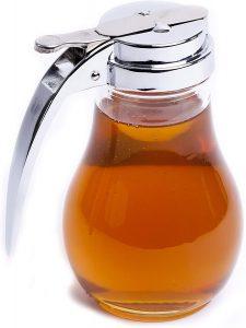 eHomeA2Z honey pot glass dispenser