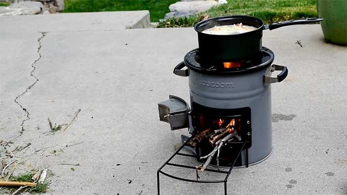 ecozoom tiny outdoor stove