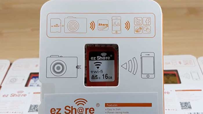 EZ Share 16gB Wireless sd memory card