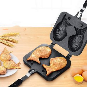 fish shaped cake pan waffle pan bread waffle maker