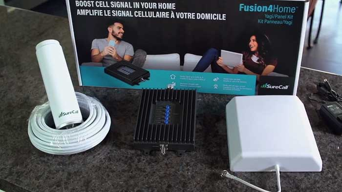 fusion4home repeater packaging and parts