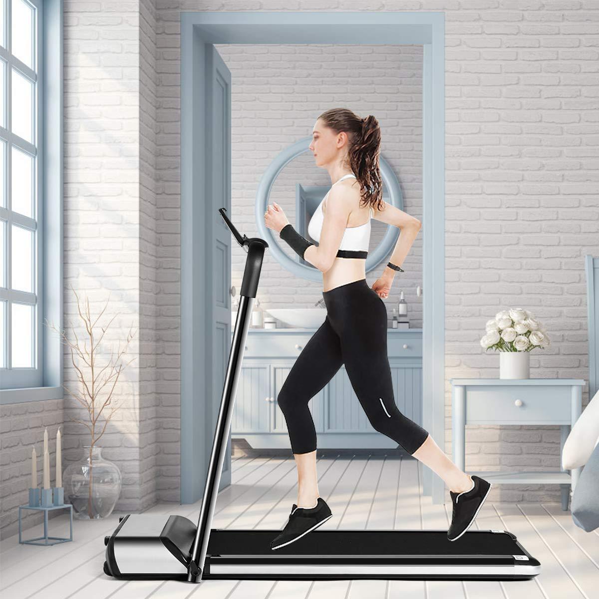 goplus electric folding treadmill image