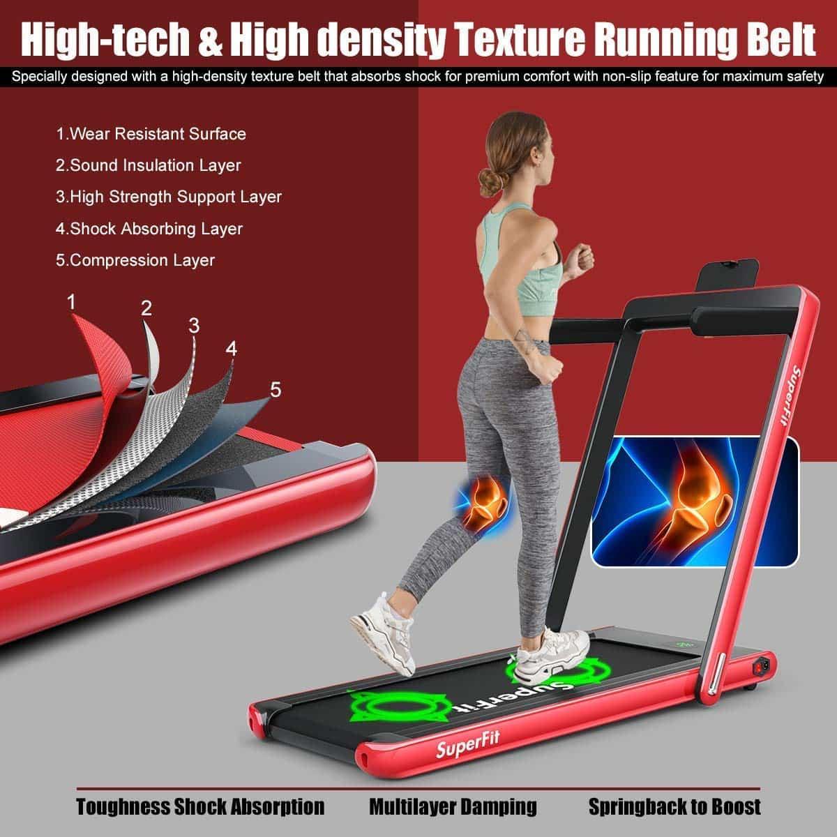 goplus folding treadmill image