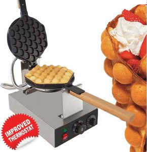 gorillaRock bubble waffle maker electric non stick egg