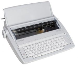 gx 6750 daisy wheel electric typewriter image