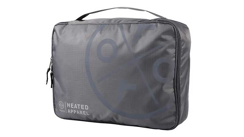 Heated apparel bag from ororo