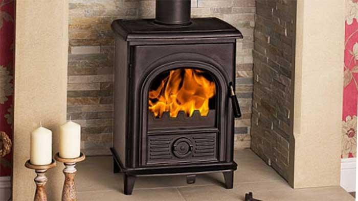 Hi-flame xxs black color cast iron stove