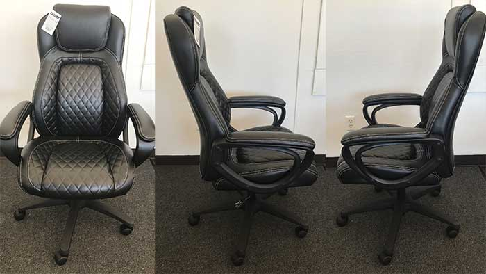 High back essentials office chair