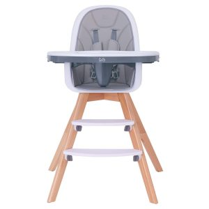 hm tech baby wooden high chair image