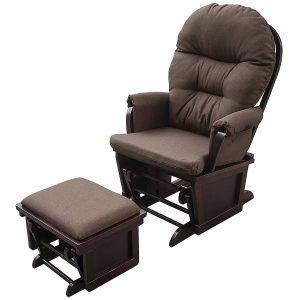 homcom nursery glider recliner image