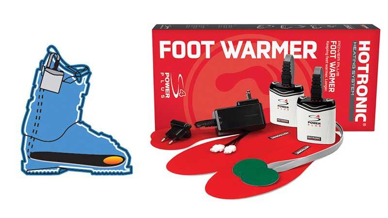 Hootronic ski boot warmer
