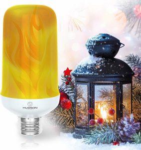 hudson lighting led flame effect light bulb image