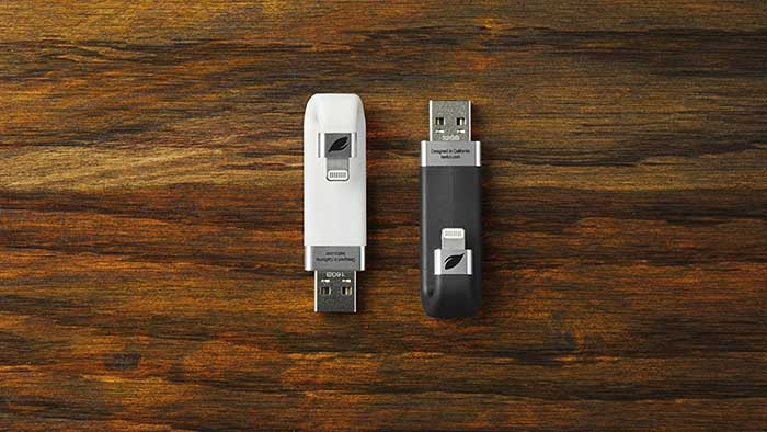 ibridge usb drive on a table