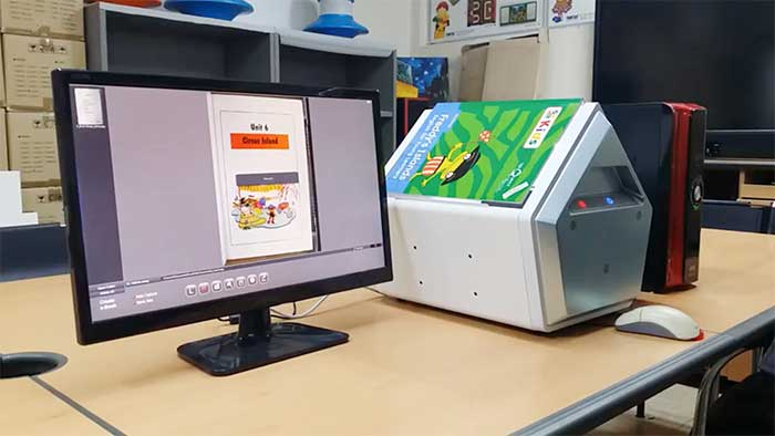 Innovative A Shaped scanner by Pkb world