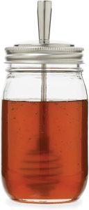 jarware stainless steel honey dipper