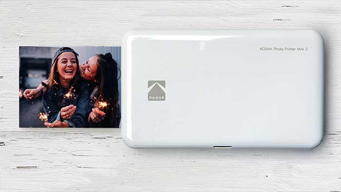 Kodak mini 2 printing a small photograph