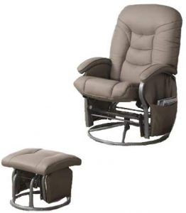 leatherette recliner image