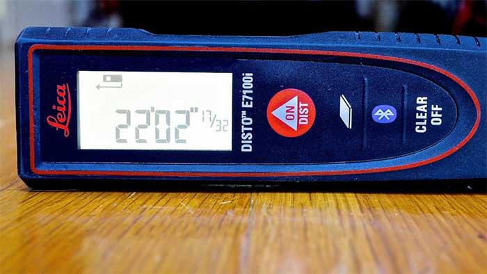 Leica E7100I measuring tool