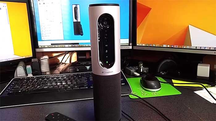 logitech video conference desktop camera
