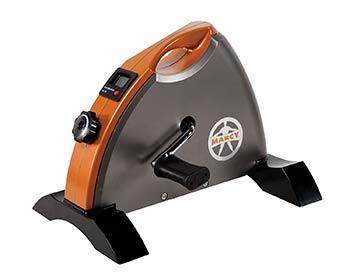 Marcy cardio mini cycle in orange color