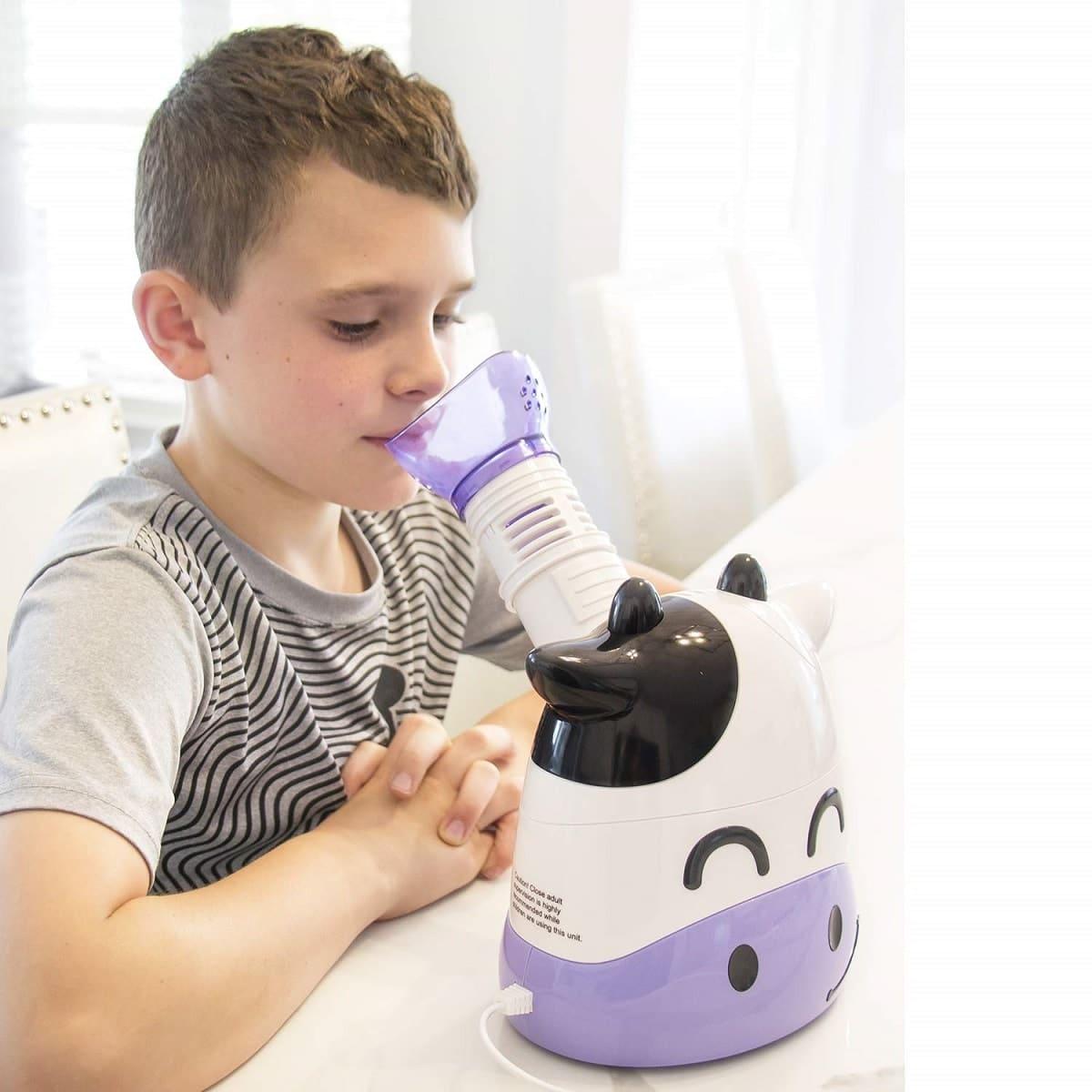 margo moo healthsmart steam inhaler image