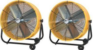 maxxair 24 inch high velocity drum fan image