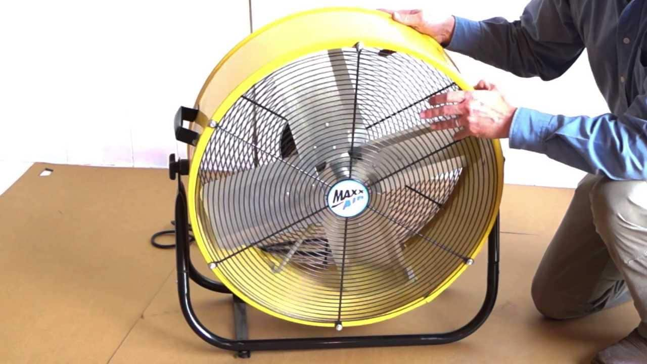 maxxair high velocity drum fan image