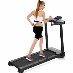 merax electric treadmill image